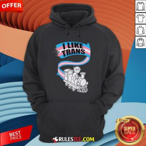 Awesome LGBT World I Like Trans Hoodie