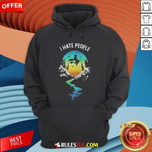 Witch Go Camping I Hate People Halloween Hoodie - Design By Rulestee.com
