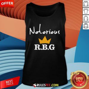 Hot Notorious R.B.G Tank Top-Design By Rulestee.com