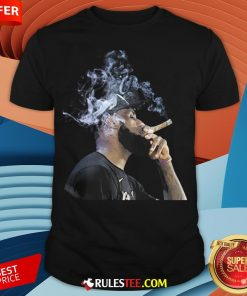 Pretty Lebron James Smoking Cigar Shirt - Design By Rulestee.com