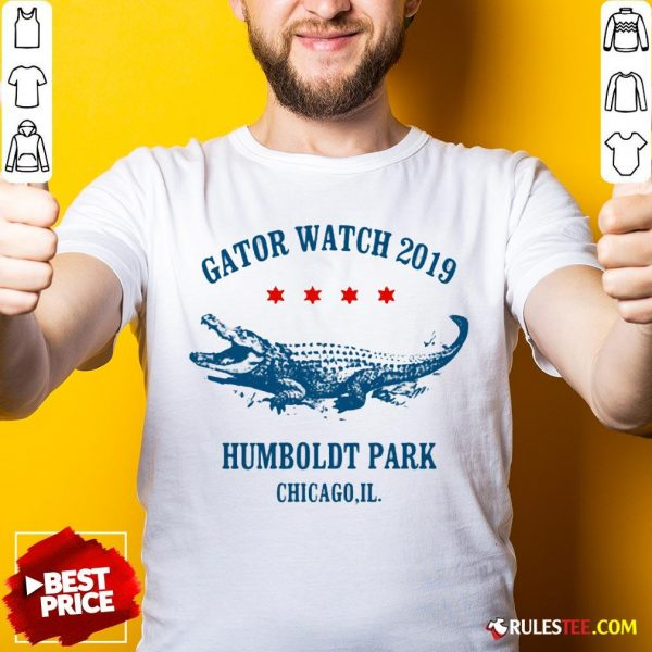 Gator Watch 2019 Humboldt Park Chicago Crocodile Shirt