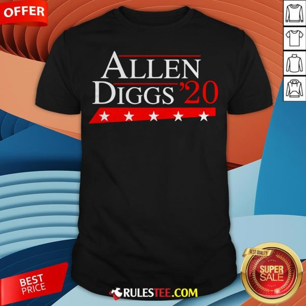 Premium Allen Diggs 2020 Shirt