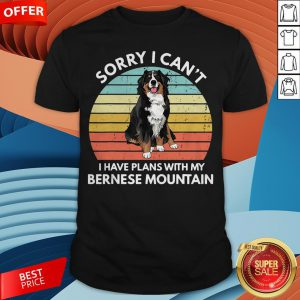 I Just Wanna Drink Wine And Pet My Bernese Mountain Vintage Retro Shirt