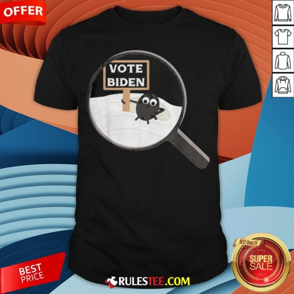 The Fly On Vice President Pence Head Debate 2020 Vote Biden Shirt - Design By Rulestee.com