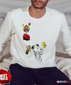 Snoopy And Charlie Brown Woodstock Balloon Sweatshirt - Design By Rulestee.com