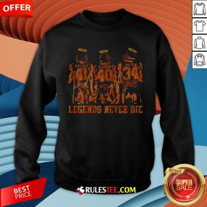 RIP Piccolo Sayers And Payton Legends Never Die Sweatshirt