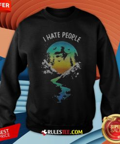Witch Go Camping I Hate People Halloween Sweatshirt - Design By Rulestee.com