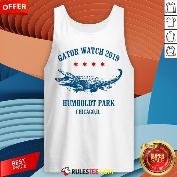 Gator Watch 2019 Humboldt Park Chicago Crocodile Tank Top