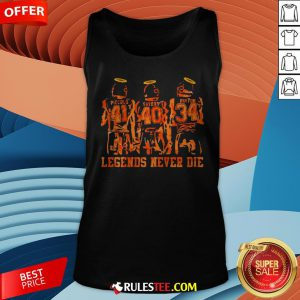 RIP Piccolo Sayers And Payton Legends Never Die Tank Top