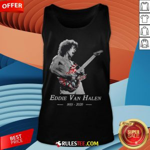 Premium Rip Eddie Van Halen 1955 2020 Tank Top - Design By Rulestee.com