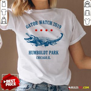 Gator Watch 2019 Humboldt Park Chicago Crocodile V-neck