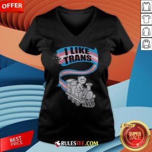 Awesome LGBT World I Like Trans V-neck