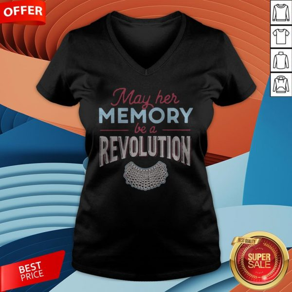 Premium May Her Memory Be A Revolution V-neck