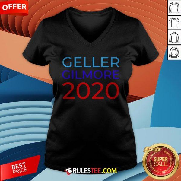 Premium Gellert Gilmore 2020 V-neck - Design By Rulestee.com