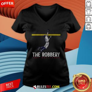 Top The Robbery Cody Bellinger V-neck - Design By Rulestee.com