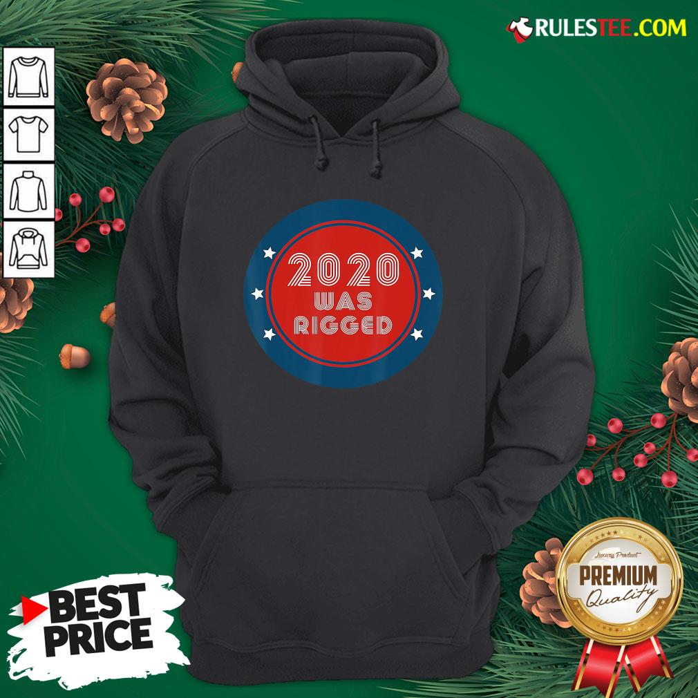 Awesome Election Rigged 2020 Voter Fraud Hoodie- Design By Rulestee.com