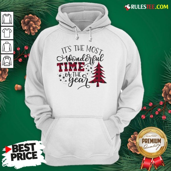 Awesome It's The Most Wonderful Time Of The Year Christmas Hoodie - Design By Rulestee.com