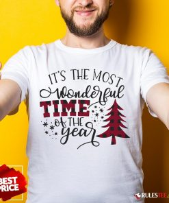 Awesome It's The Most Wonderful Time Of The Year Christmas Shirt - Design By Rulestee.com