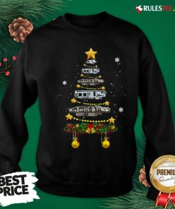 Funny Camping Car Christmas Tree Sweatshirt - Design By Rulestee.com