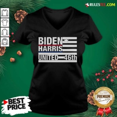 Joe Biden Kamala Harris 2020 46th President V-neck - Design By Rulestee.com