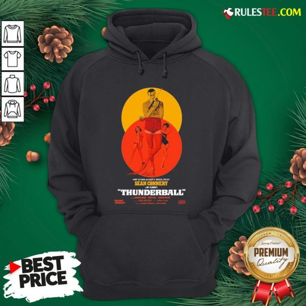 Good Thunderball James Bond Sean Connery Dr No Danish Hoodie - Design By Rulestee.com