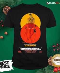 Good Thunderball James Bond Sean Connery Dr No Danish Shirt - Design By Rulestee.com