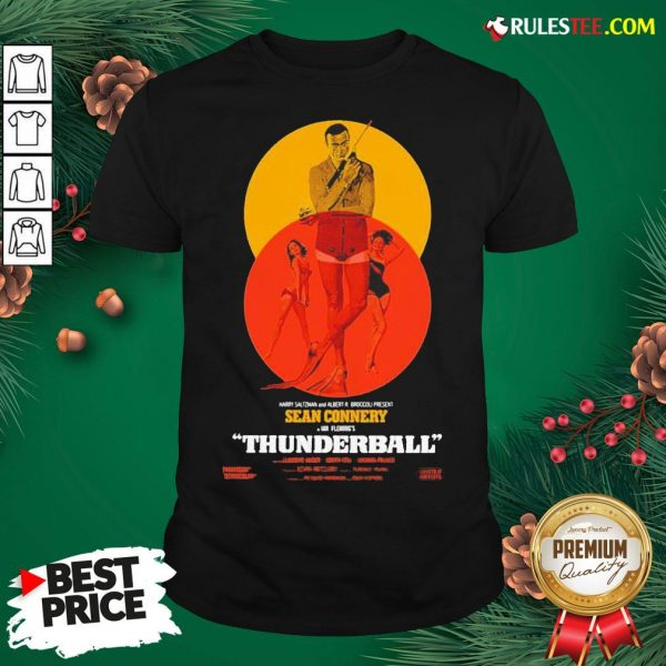Good Thunderball James Bond Sean Connery Dr No Danish Shirt - Design By Rulestee.com