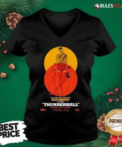 Good Thunderball James Bond Sean Connery Dr No Danish V-neck - Design By Rulestee.com