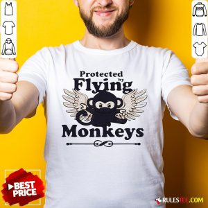 Hot Protected By Flying Monkeys Ninja Shirt - Design By Rulestee.com