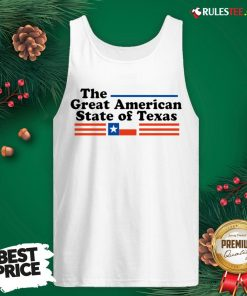 Hot The Great American State Of Texas Tank Top - Design By Rulestee.com