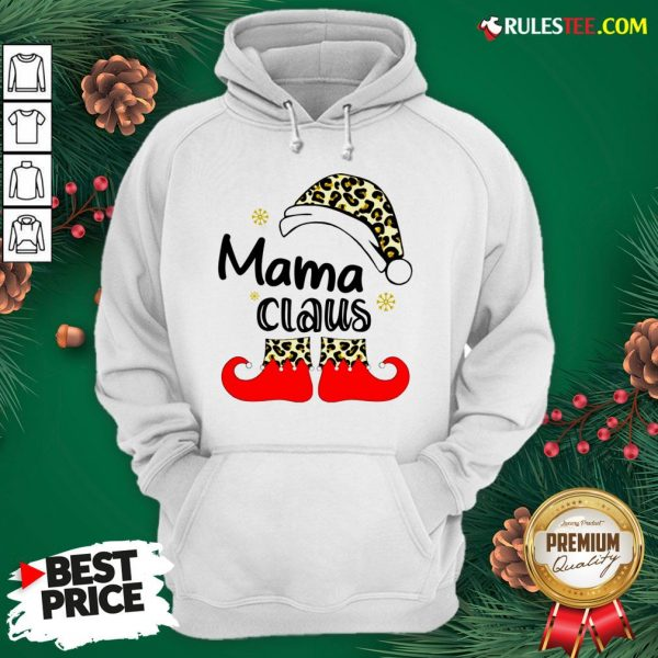 Nice Mama Claus Christmas Hoodie - Design By Rulestee.com