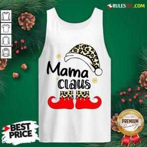 Nice Mama Claus Christmas Tank Top - Design By Rulestee.com