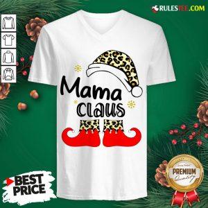 Nice Mama Claus Christmas V-neck - Design By Rulestee.com