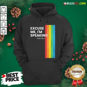 Excuse Me I'm Speaking Kamal Harris Lgbt Hoodie - Design By Rulestee.com