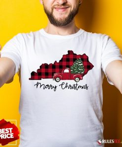 Official Kentucky Merry Christmas Tree Shirt - Design By Rulestee.com
