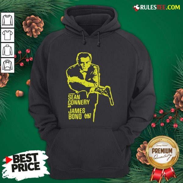 Official Sean Connery As James Bond 007 Hoodie - Design By Rulestee.com
