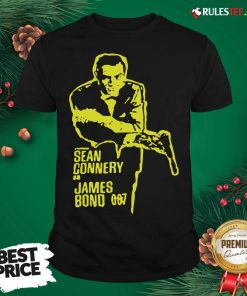 Official Sean Connery As James Bond 007 Shirt - Design By Rulestee.com