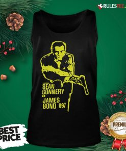 Official Sean Connery As James Bond 007 Tank Top - Design By Rulestee.com