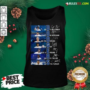 Original Los Angeles Dodgers Cody Bellinger Clayton Kershaw Joc Pederson Signatures Tank Top - Design By Rulestee.com
