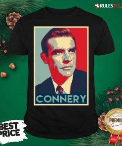 Original Sean Connery Actor Lightweight Shirt - Design By Rulestee.com