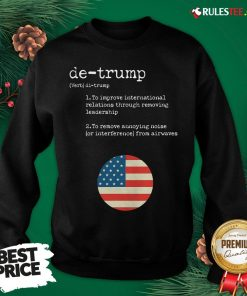 Original Trump Dictionary Definition For Usa Election Result Vintage Sweatshirt- Design By Rulestee.com