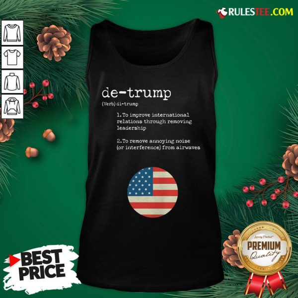 Original Trump Dictionary Definition For Usa Election Result Vintage Tank Top - Design By Rulestee.com