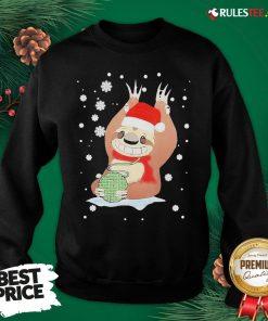 Perfect Christmas Mountain Sloth Knitting Cute Sweatshirt - Design By Rulestee.com