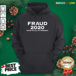 Perfect Stolen Election Fraud Trump Is Still My President Trump 2020 Hoodie - Design By Rulestee.com