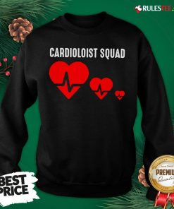 Premium Cool Cardiology Squad Funny Medical Heart Doctor Team Gift Sweatshirt- Design By Rulestee.com
