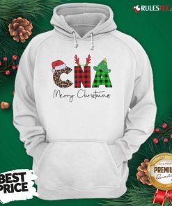 Premium Plaid CNA Merry Christmas 2020 Hoodie - Design By Rulestee.com