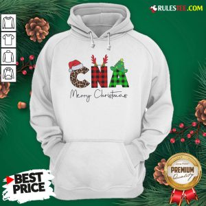 Premium Plaid CNA Merry Christmas 2020 Hoodie - Design By Rulestee.com