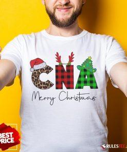 Premium Plaid CNA Merry Christmas 2020 Shirt - Design By Rulestee.com