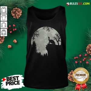 Top Howling Turtle The Moon Tank Top- Design By Rulestee.com