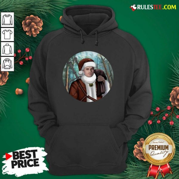 Awesome The Witcher Santa Crewneck Hoodie - Design By Rulestee.com